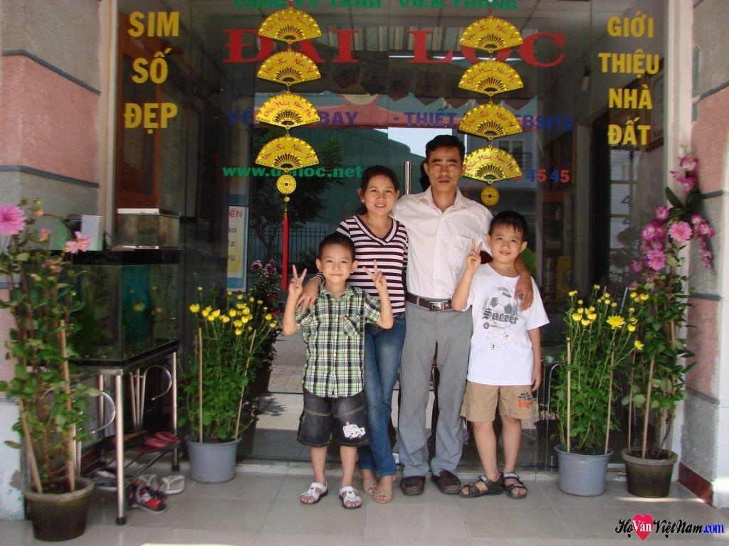 Gia đình Văn Qúy Minh Tuấn xuân Qúy Tỵ 2013 (mồng 1)